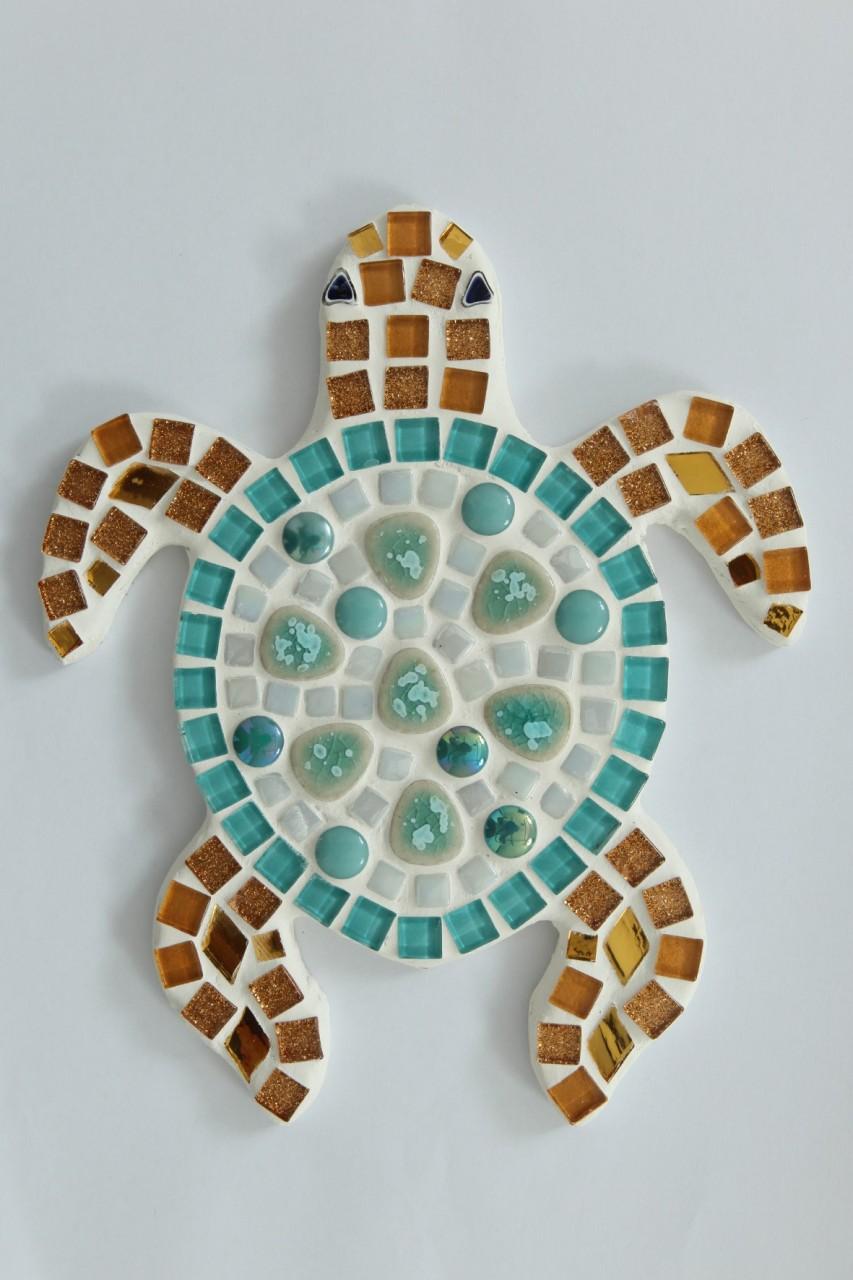 dolphin mosaic kit