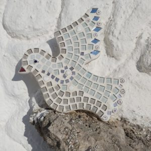 turtle and moon dove mosaic craft kit